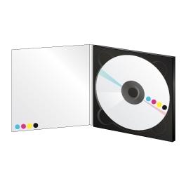 500 DVD 5Go en digipack 2 volets (format CD)