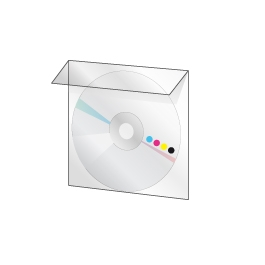 200 DVD 5Go en pochette plastique avec rabat
