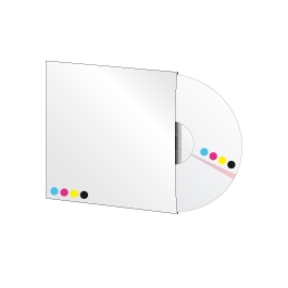 1000 CD en pochette cartonnée