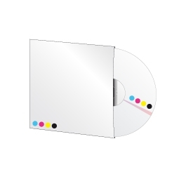 100 DVD 5Go en pochette cartonnée