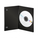 DVD en boitier Amaray noir sans livret