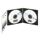 PACK 1000 CD + 1000DVD5Go en Digipack 3 volets +Livret 12 pages 4/4 + Thermofilmage