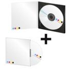PACK 1200 CD : 1000 CD en Digipack 2 volets 4/0 + 200 CD en pochettes cartonnées quadri